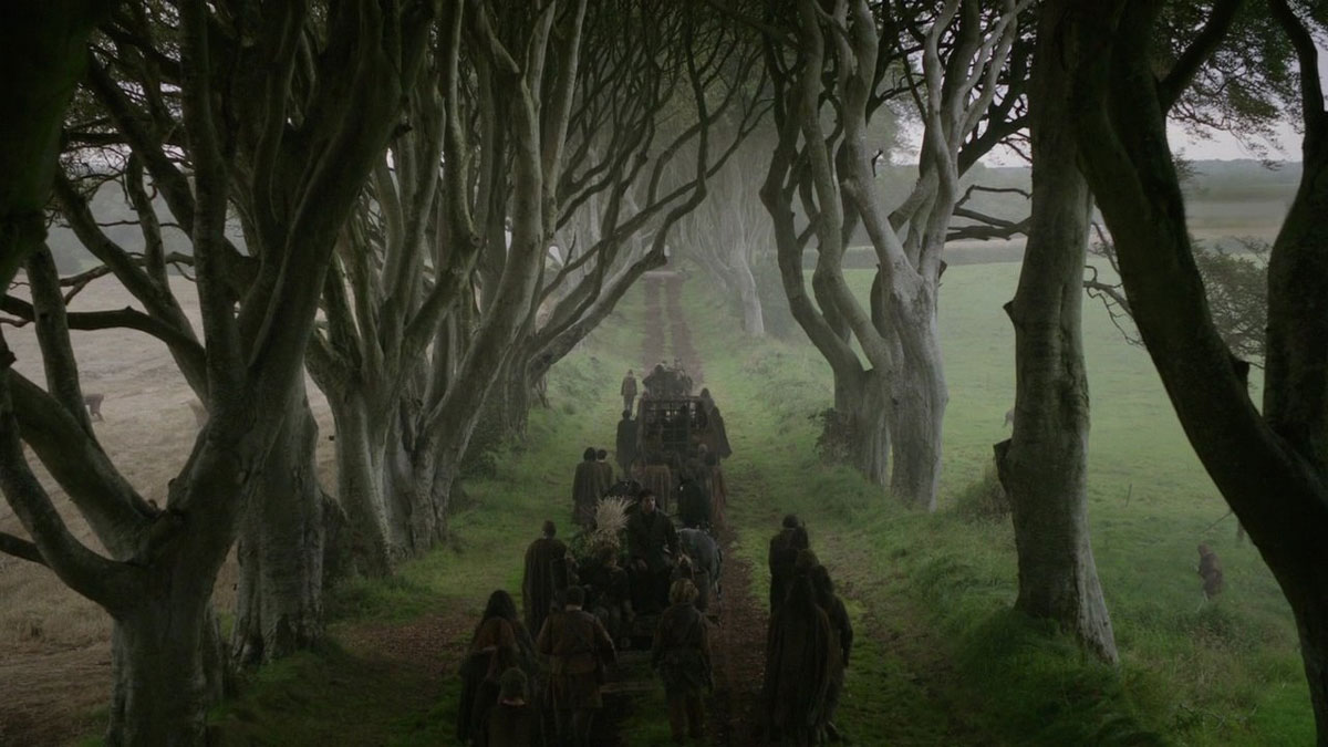 Dark Hedges Game of Thrones