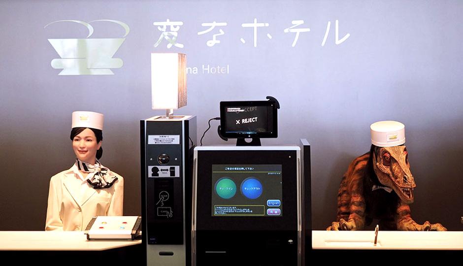 hôtel robotisé japon