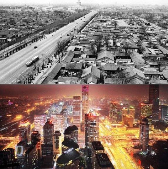 Beijing avant après