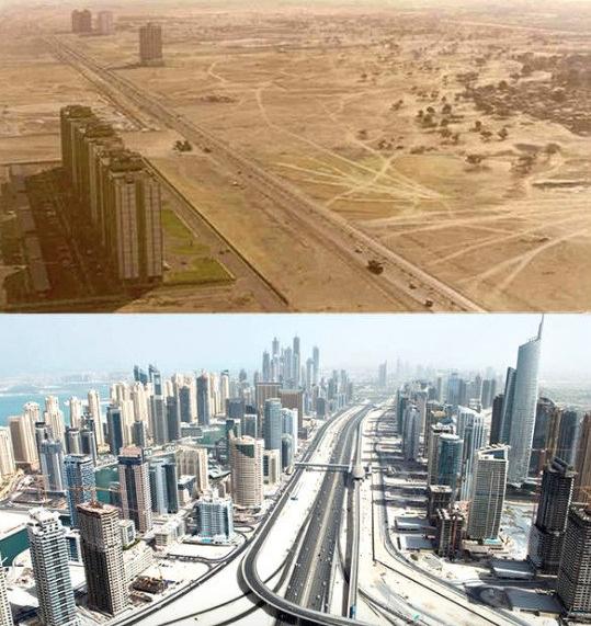 Dubai avant après