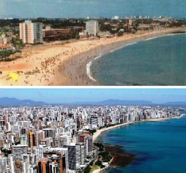 Fortaleza avant après