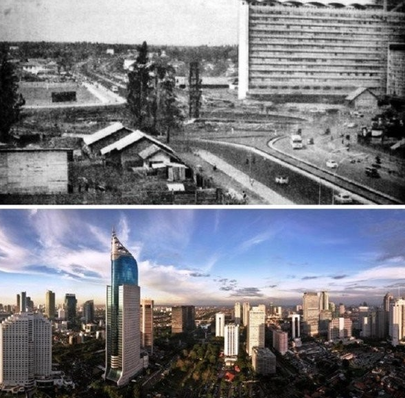 Jakarta avant après