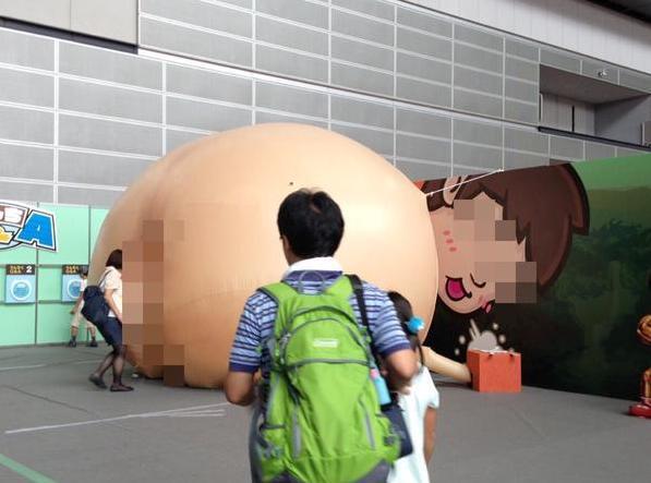 L'exposition sur la digestion pour enfants au Japon