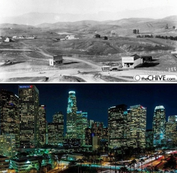 Los Angeles avant après