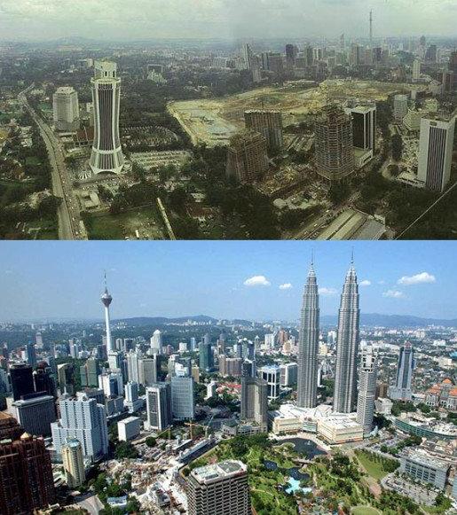 Malaisie avant après