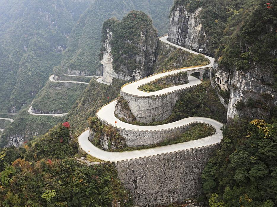 Route de Tianmen Shan