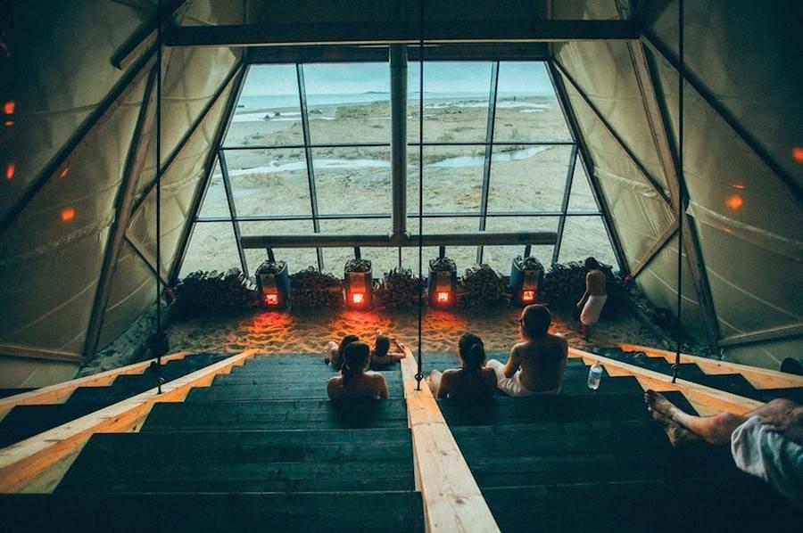 Le plus grand sauna du monde est en Norvège