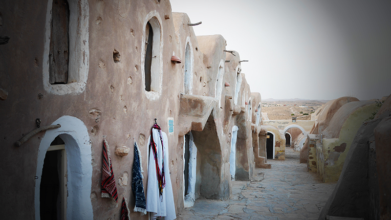 Notre passage au Ksar Hadada