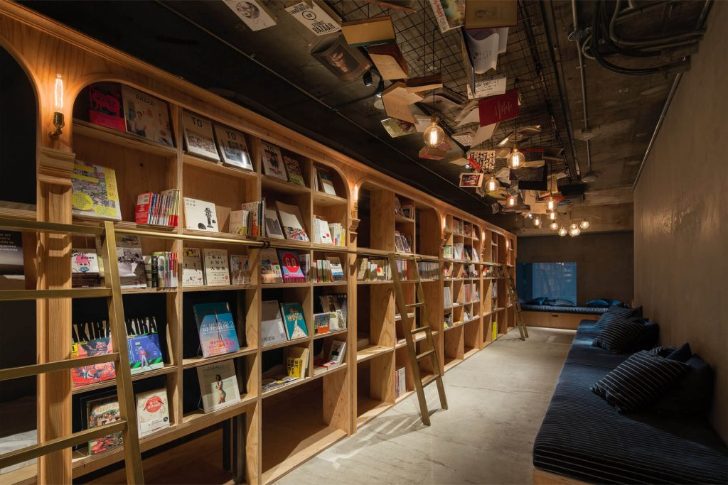 L'hôtel Book and Bed à Tokyo
