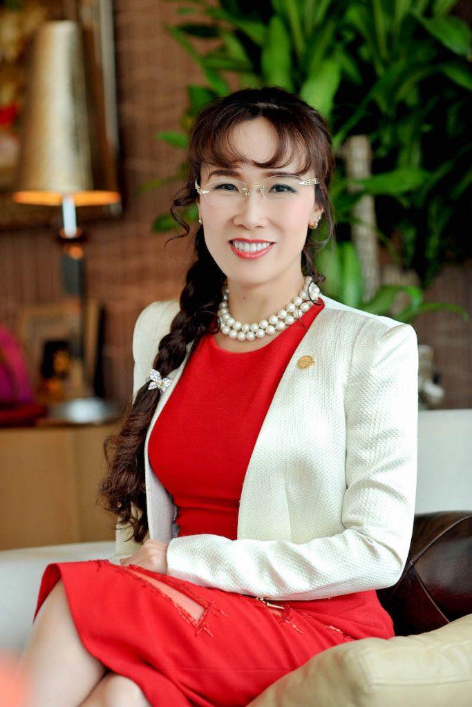 Nguyen Thi Phuong Thao, VietJet Aviation CEO. Source: VietJet Aviation JSC