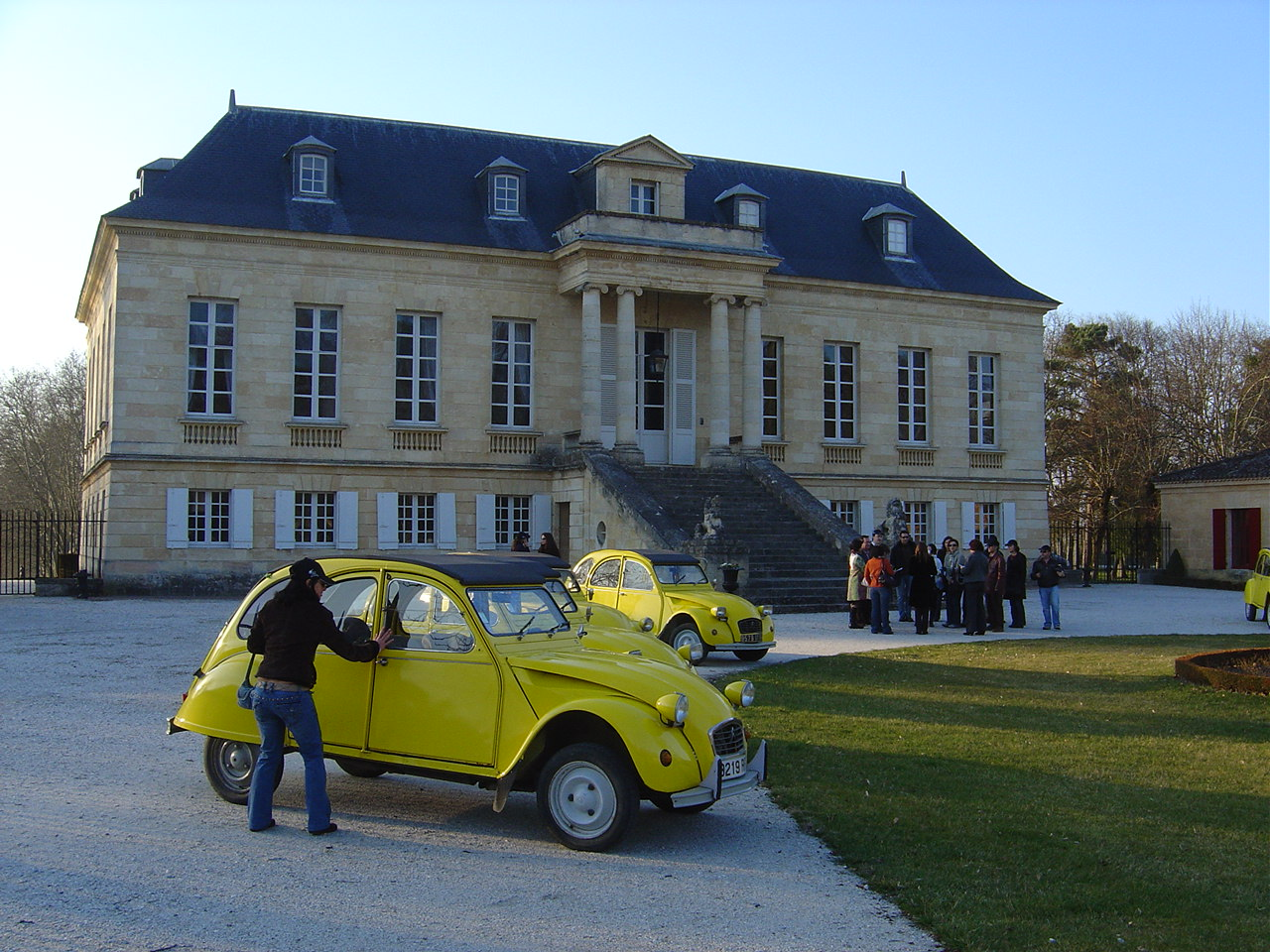 bordeaux 2cv tour