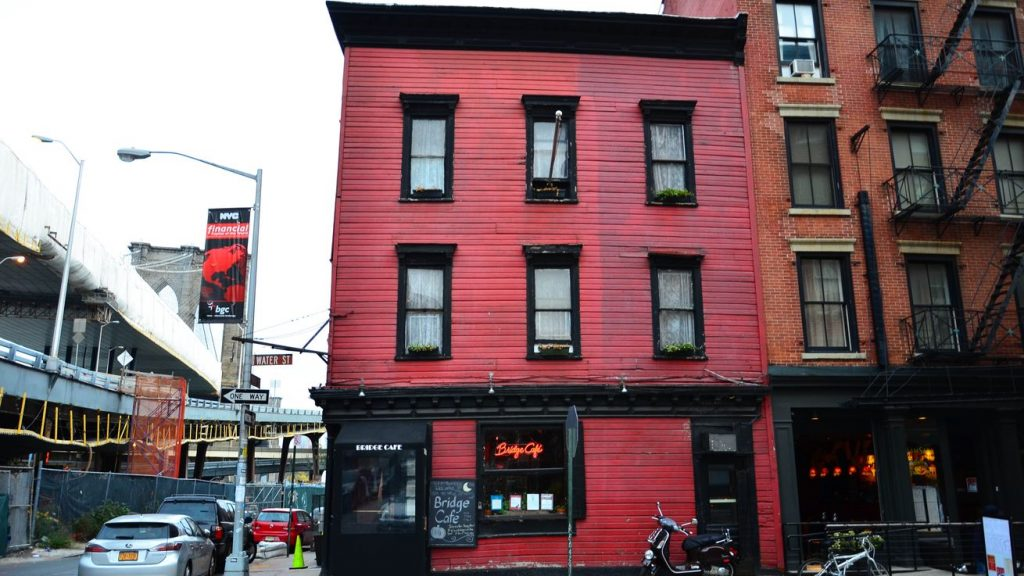 bridge café new york