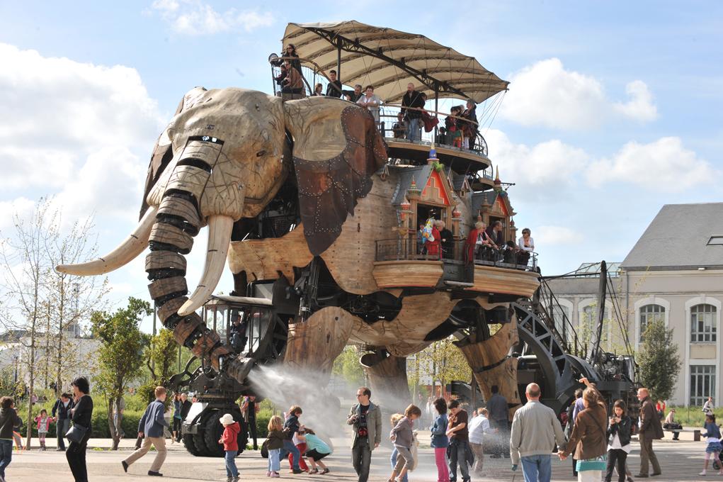 la grand éléphant nantes