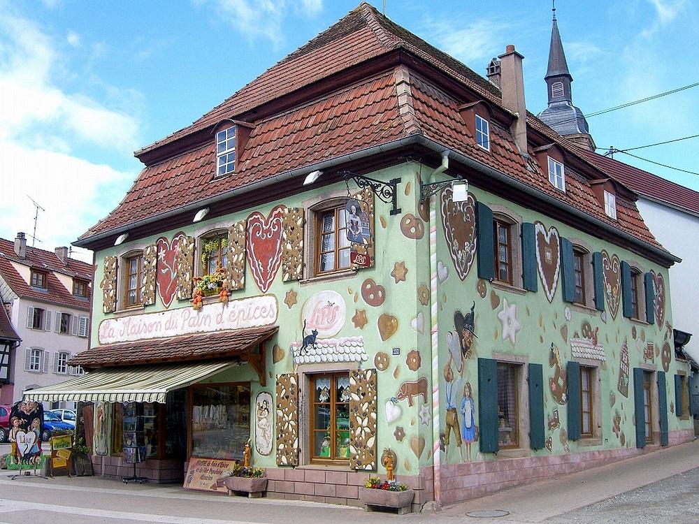 maison du pain d'épice
