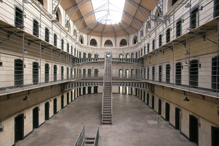 Kilmainham Gaol. © National Monuments Service. Dept. of Arts, Heritage and the Gaeltacht.