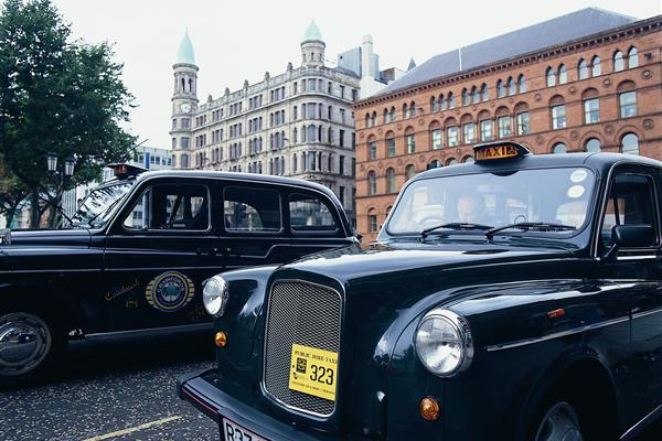 The Black Taxis Blefast