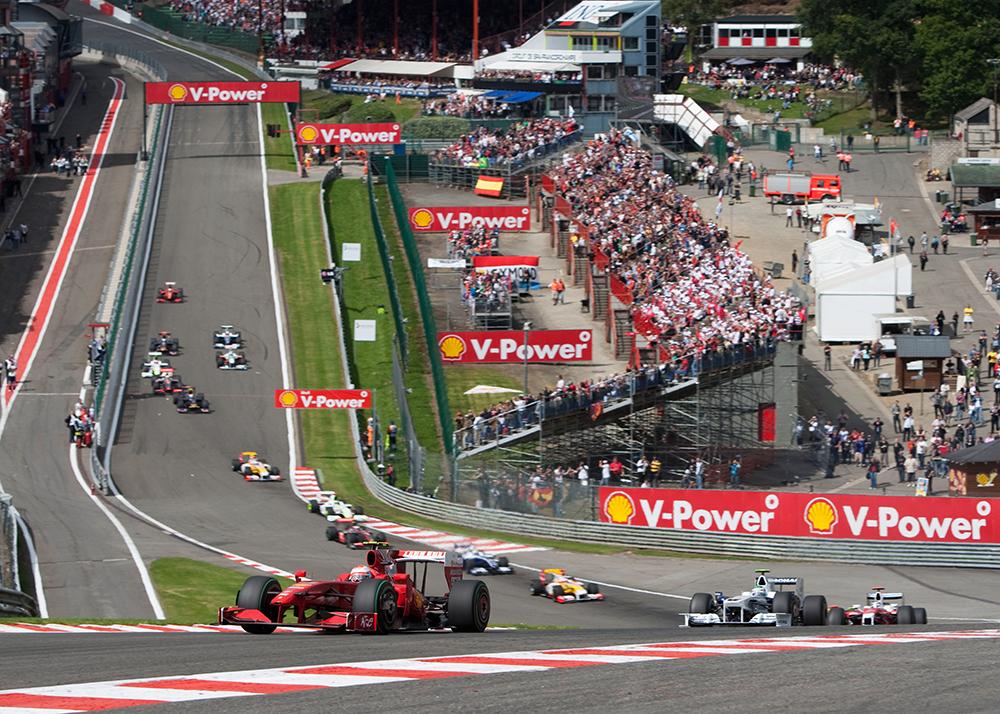 Circuit de Spa-Francorchamps, Belgique