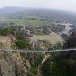 Un pont de verre géant en Chine