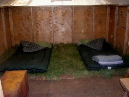 dormir au zoo sauvage de Saint Félicien
