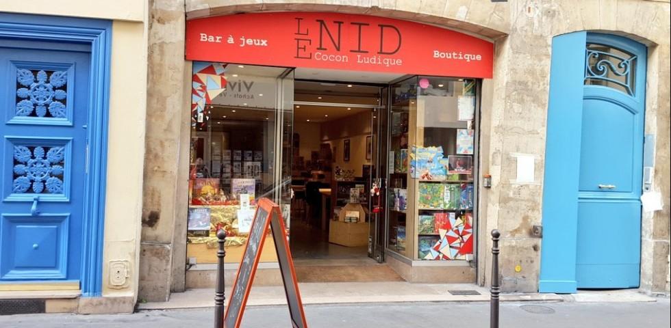 Bar à jeux le Nid à Paris