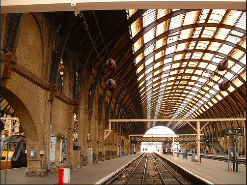 Gare de King's Cross, Londres