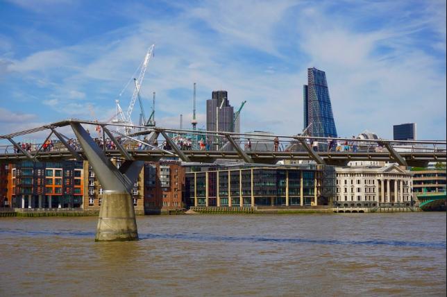 Pont du Millenium, Londres