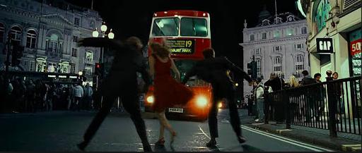 Harry Potter et les Reliques de la mort, Piccadilly Circus