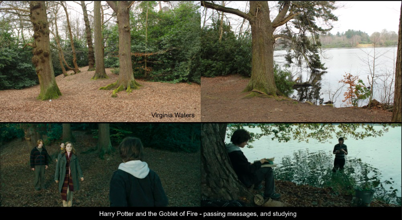 Virginia Water Lake // Harry Potter et la coupe de feu (Photo Travel Like a Geek)