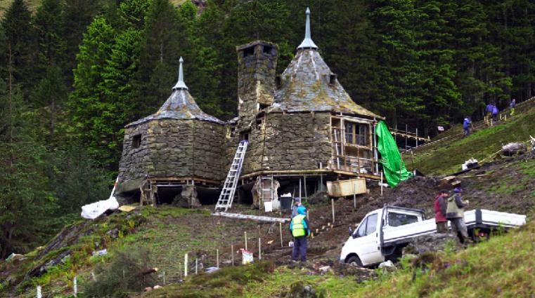 Glen Coe, la Cabane d'Hagrid (photo STV)