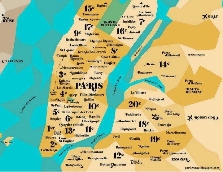 Top 9 Des Cartes Insolites De New York