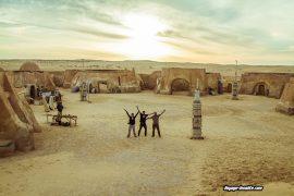 voyage star wars en Tunisie