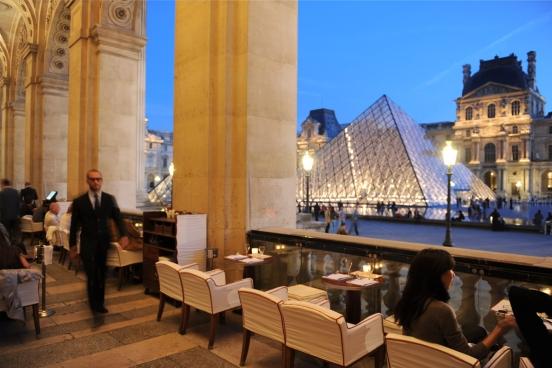 café Marly le Louvre
