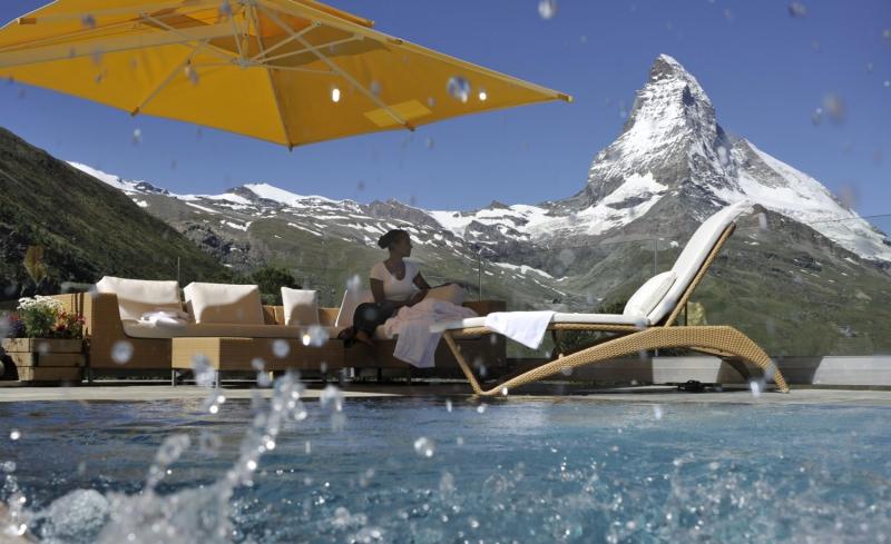 hôtel d'altitude en Suisse
