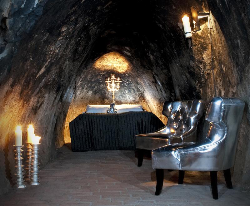 dormir dans une mine