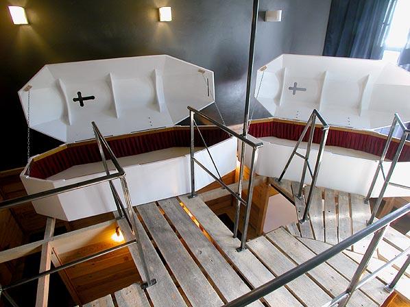 chambre cercueil à Berlin