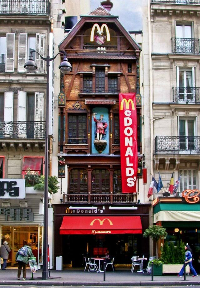 Mc Donald's insolite à Paris
