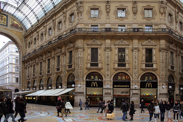 Mc Donald's insolite Milan