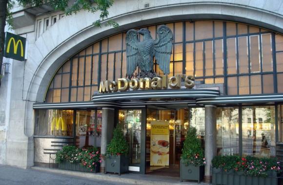 Mc Donald's insolite Porto