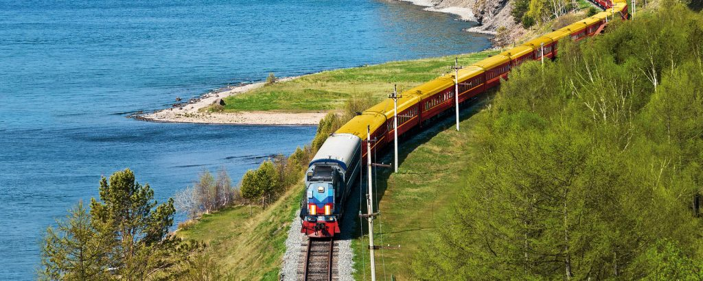 Train transsibérien en Russie