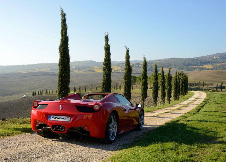 Roadtrip en Ferrari en Toscane