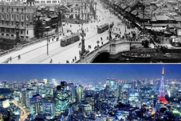 Tokyo avant après
