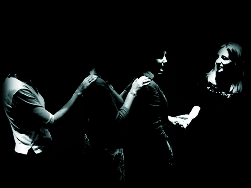 Dans le noir Londres