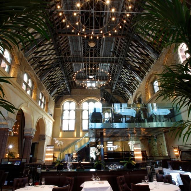 Galvin La Chapelle resto insolite Londres