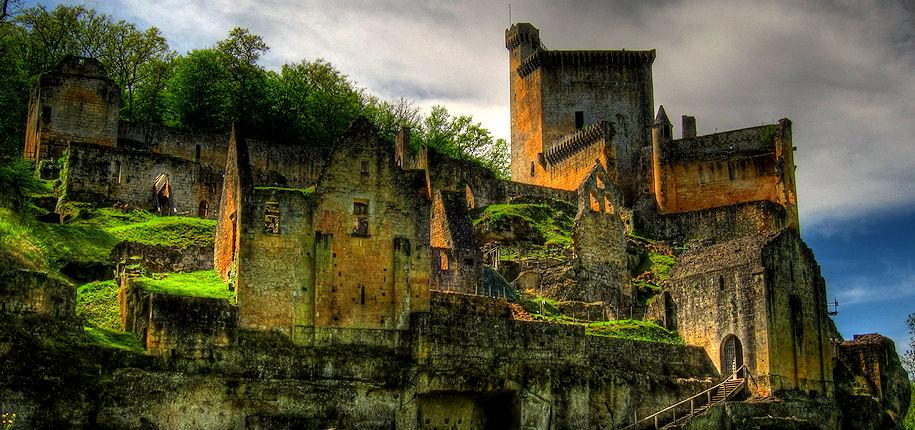 Le Château de Commarque (Perigord)