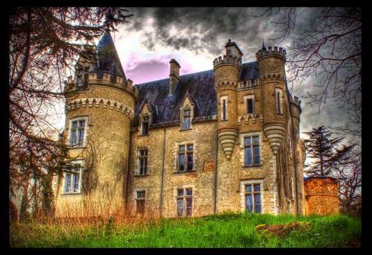 chateau hanté de Fougeret