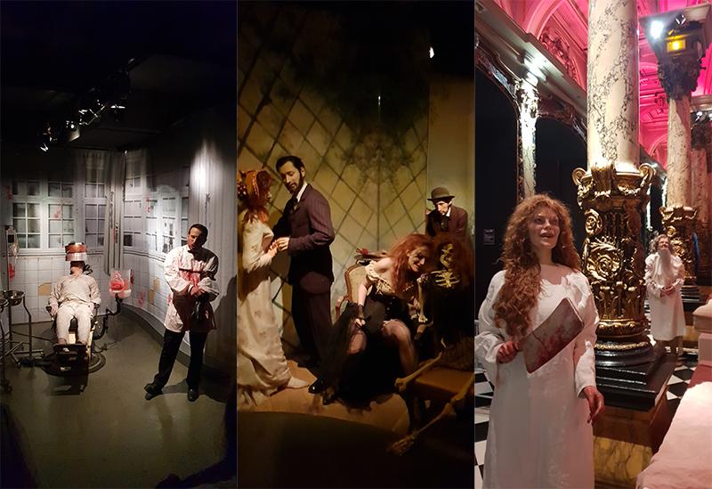 Halloween au musée Grevin
