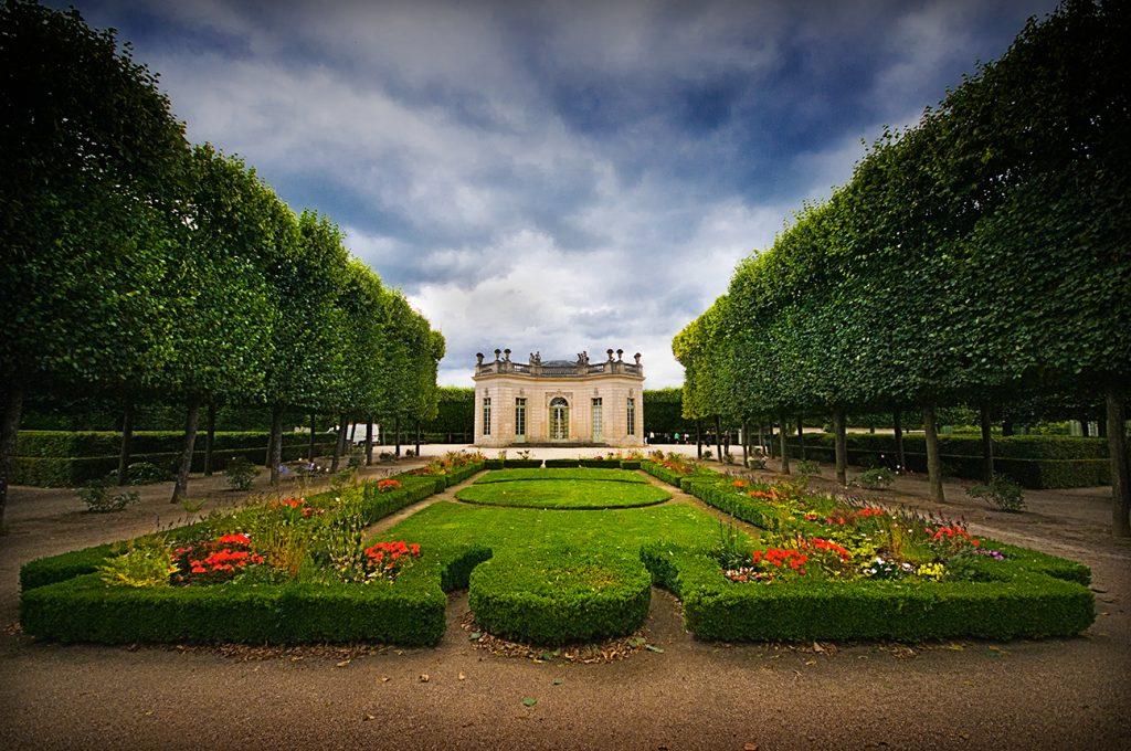 Les jardins du Petit Trianon à Versailles