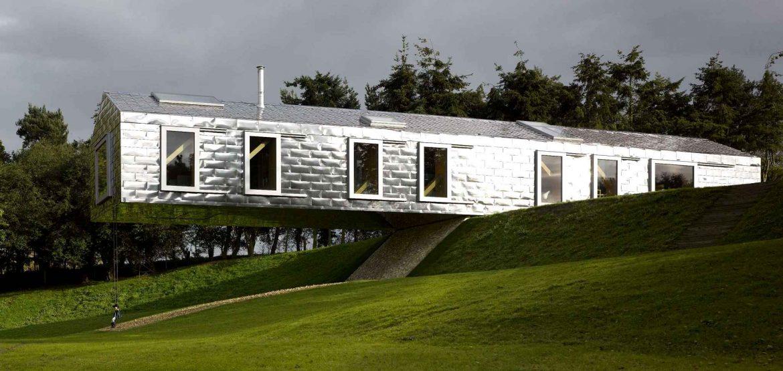 Balancing Barn, location dans le Suffolk (Photo : MVRDV/Living Architecture)