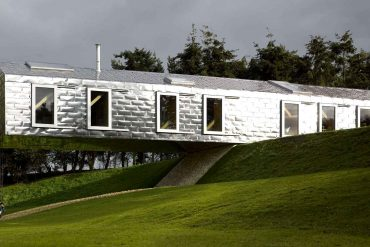 Balancing Barn, location dans le Suffolk (Photo : MVRDV/Living Architecture)
