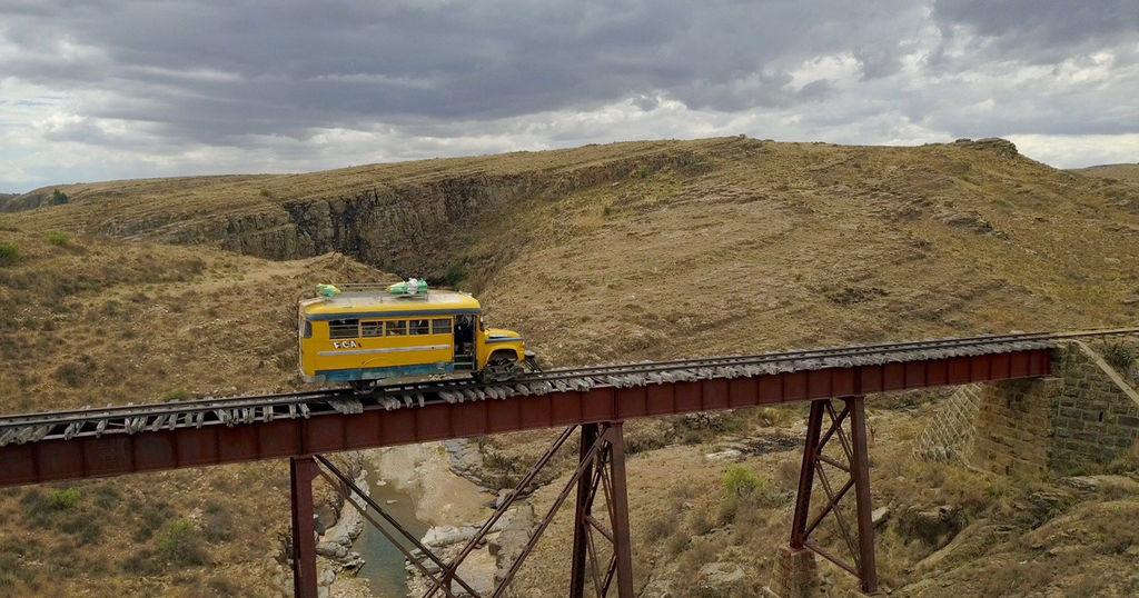 buscarril le bus insolite de Bolivie